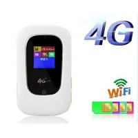 """Portable 4G MIFI Router with sim card slot,1.44"""" LCD Screen Manufactures"""