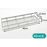 Sticking Bathroom Storage Rack Shelf With Electrolysis For Family Bathroom Manufactures