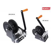 Windlass Hand Lifting Winch Steel Manual Hand Winch With Single Double Speed Manufactures