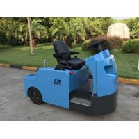 Blue Electric Tow Tractor , Aircraft Towing Equipment KDS Frequency Conversion