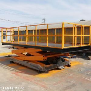 China Tavol Heavy Duty Hydraulic Scissor Lift Platform for Warehouse Manufactures