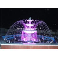 Granite Garden Water Sculpture Fountains  304 Stainless Steel For Show In Park Manufactures