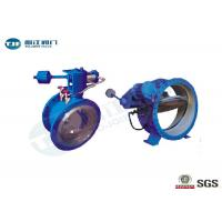 Ductile Iron Butterfly Buffer Stop Check Valve PN 25 Bar For Industrial Water Supply Manufactures