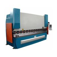 Automatic CNC hydraulic press brake bending machine for Pipe and tube 1250KN Manufactures