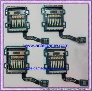 Samsung Galaxy S3 Mini i8190 SIM Reader Memory Card Connector Samsung repair parts Manufactures