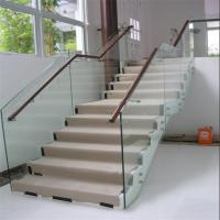 Wholesale beautiful indoor staircase standoff glass railing Manufactures