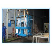 Dual Mast Mobile Elevating Work Platform For 2 Persons 8 Meter Platform Height Manufactures