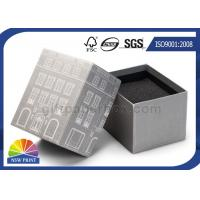 Custom Die - cut Foam Inserts 2 Piece Rigid Paper Box For Gifs Packaging Manufactures