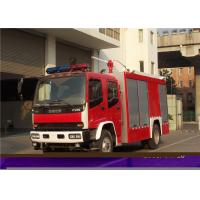 Max Power 107KW Fire Department Utility Vehicles , Stroboscope Lamps Fire Command Truck Manufactures