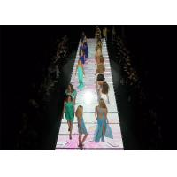 Various Pixel Pitches Floor LED Screen , LED Video Dance Floor Fixed Installation Manufactures
