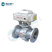 Motorized Actuator AC24V Ball Valve of Petrol Chemical Valve with Material 161 480E Manufactures