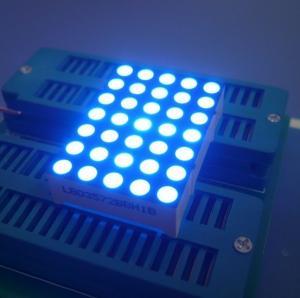 Digital Time Zone 5x7 Dot Matrix LED Display Ultra Blue1.26 Inch 3mm Long Lifetime Manufactures