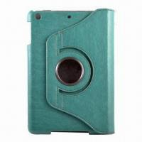 2012 New 360° Rotation PU Leather Case for iPad Mini, from Factory Manufactures