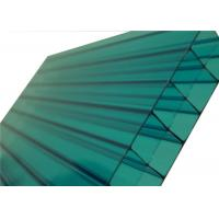 Colored Triple Polycarbonate Sheets ,Clear Polycarbonate PanelsFor Skylight Roofing Manufactures