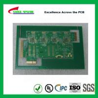 Aeronautics Printed Circuit Board 8L FR4 Immersion Gold + Hard Gold Quick Turn Pcb Manufactures