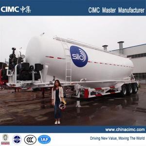 cimc tri-axle 60 tons cement silo trailer for sale Manufactures