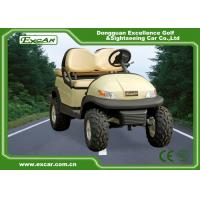 Safety Golf Cart Utility Vehicles With Comfortable Sofa Chair Manufactures