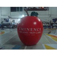Quality 6ft High Apple Fruit Shaped Balloons For Exhibition Display , Inflatable Hanging Balloon for sale