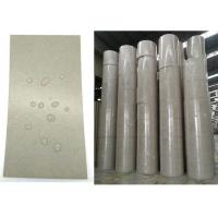 100% Recycled  Glossy and flat Waterproof PE Coated Grey Paper Board in Roll Manufactures