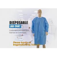 Disposable Isolation Non- Woven Gown,Disposable Hospital Non woven Medical White Lab Coat,Disposable Industrial Overall Manufactures