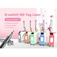 China 1064nm 532nm Q-Switch Nd Yag Laser Machine for Pigmentation Removal Freckle Removal on sale