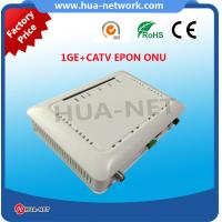 Buy cheap HUANET offer HZW-E801-T ONU EPON 1GE+CATV EPON ONU with huge stock from wholesalers