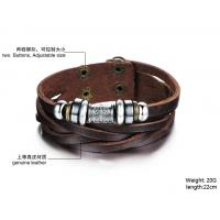 2014 Wholesale fashion jewelry leather braclet hot sales factory priceBR37 Manufactures