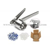 Pharmaceutical Processing Equipment Cap Crimper for 20mm flip off cap Manufactures