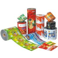 Food grade pvc printed shrink film / label , wrap around water bottle labels Manufactures