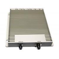 White TRI-BAND Repeater With 200m² Coverage Area , Cellular Signal Repeater Manufactures