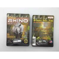 Rhino 35000 3D Sex Power Increase Capsule Strong Effect 24 Cards Per Box For Men Manufactures