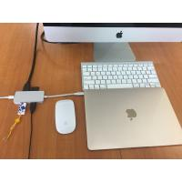 Factory Direct Supply Aluminum Type-C Multi-port adapter USB3.1 Type C Hub Adapter with USB 3.0/Type-C/PD 2.0 Charger Manufactures
