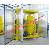 Transformer Oil Filtration and Purification Machine with canopy,Insulation Oil Purifier stainless steel cabinet Manufactures