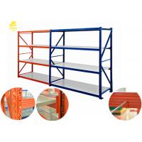 Large Capacity Medium Duty Steel Rack With Cold Rolled Steel Material Manufactures