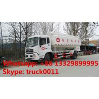 China 2019s good price hydraulic system bulk feed delivery truck for sale, 20cbm poultry feed body mounted on truck for sale on sale