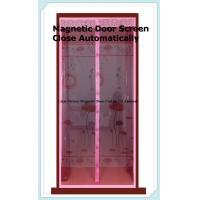 door mosquito net close automatically