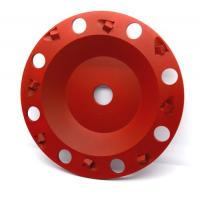 Polycrystalline Diamond Pcd Grinding wheel with inverted PCD segments for concrete floor coatings removing Manufactures