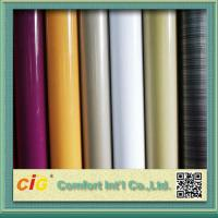 Anti Scratch Rigid PVC Transparent Film for Covers / Shower Curtain 0.10mm - 0.50mm Manufactures