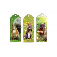 0.6 PP Customizable 3D Lenticular Bookmark Personalised Bookmarks For Students Manufactures