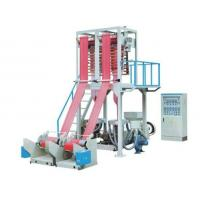 Automatic LDPE HDPE Plastic Film Blowing Machine With Double Head Manufactures