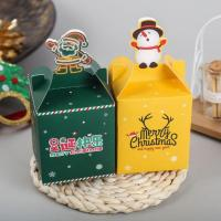 China Retail Support Gift Box Packaging Christmas Promotion Candy Chocolate Packaging on sale