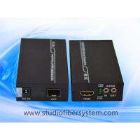 Compact HDMI fiber optical extender for 1CH uncompressed 1080P HDMI&1CH RS232&1CH bidi audio over SM fiber to 80KM Manufactures