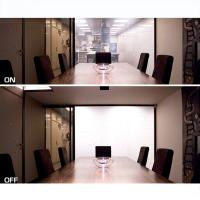 China PDLC Residential Smart Glass , Electric Glass Switchable Privacy Glass on sale