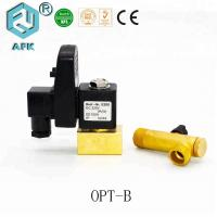 IP65 High Pressure Solenoid Valve For Washing Machine With Switch Button Manufactures