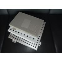Good Appearance Perforated Aluminum Panels 0.5 - 1 Mm Thickness Anti Corrosive Manufactures