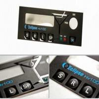 Graphic Overlay Panel with Click Touch Keys Feature Manufactures