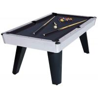 Metal coner Classic Pool Table wood billiard table smooth playing surface for family Manufactures