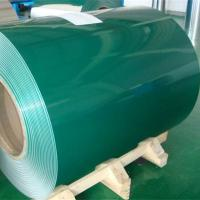 China Green Painted Aluminum Coil Polyester Coated Aluminum High Weather Resistance on sale
