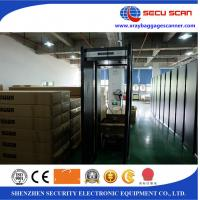 Weather - Proof Archway Walk Through Scanner , Aluminum Case Manufactures