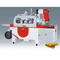 Buy cheap MJ143C automatic multi-chip saw machine, max sawing thickness 100mm, width 250mm from wholesalers